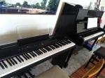 "Na ""casa musical"": piano Fritz Dobbert e digital da Roland"
