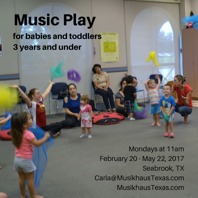 toddler music Seabrook TX