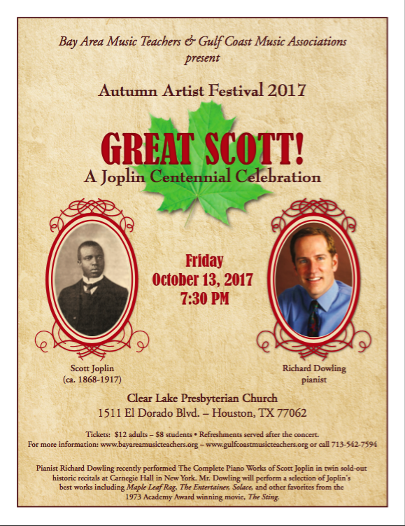 piano concert clear lake tx